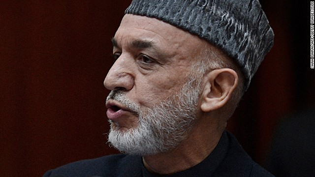 Afghan President Hamid Karzai has been adamant that all prisoners be under Afghan control.