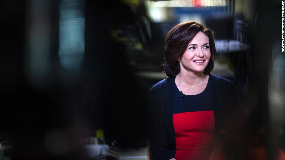 Sheryl Sandberg is Facebook's chief operating officer, overseeing the social media mammoth's business operations -- which includes sales, marketing, business development, human resources, public policy and communications.