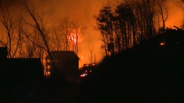 Dozens of cabins lost in massive fire