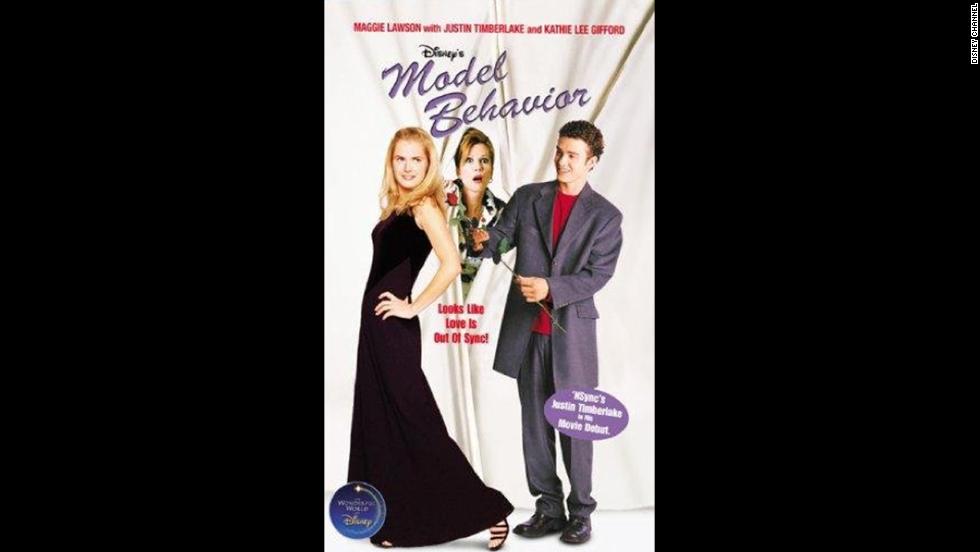 "Timberlake stars alongside Maggie Lawson and Kathie Lee Gifford in Disney's 2000 TV movie ""Model Behavior."""