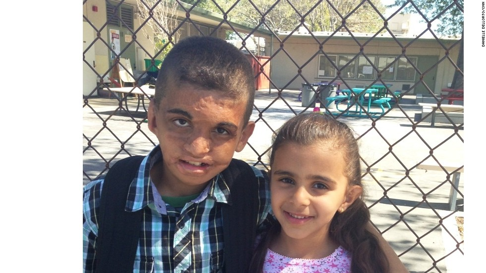Youssif is now a fifth-grader at a school outside Los Angeles. His favorite subject is math, he says. His sister, Aaya, is in first grade.