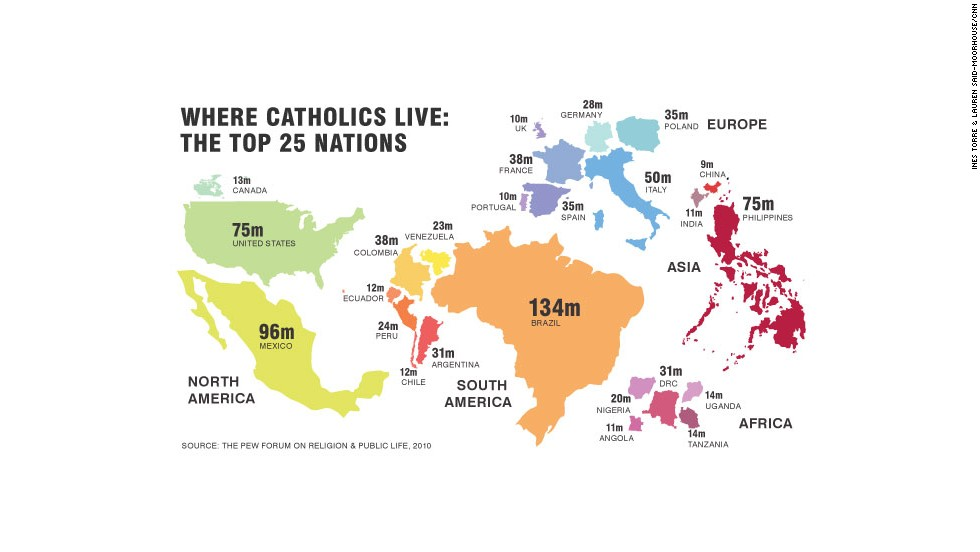 OS Catholic Top    MapPorn - Catholicism in us map