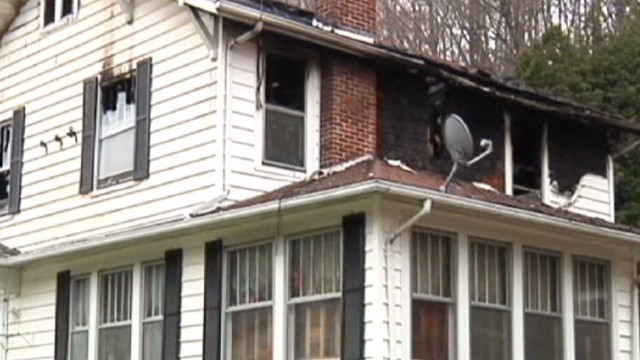 Man returns from cruise to burned home