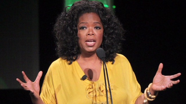 Oprah: I want to change lives