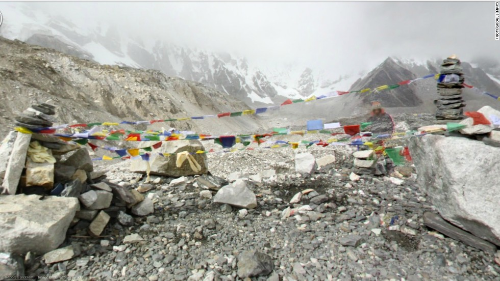 Most expeditions to the highest point on earth, 29,029 feet above sea level, are staged at Everest Base Camp.