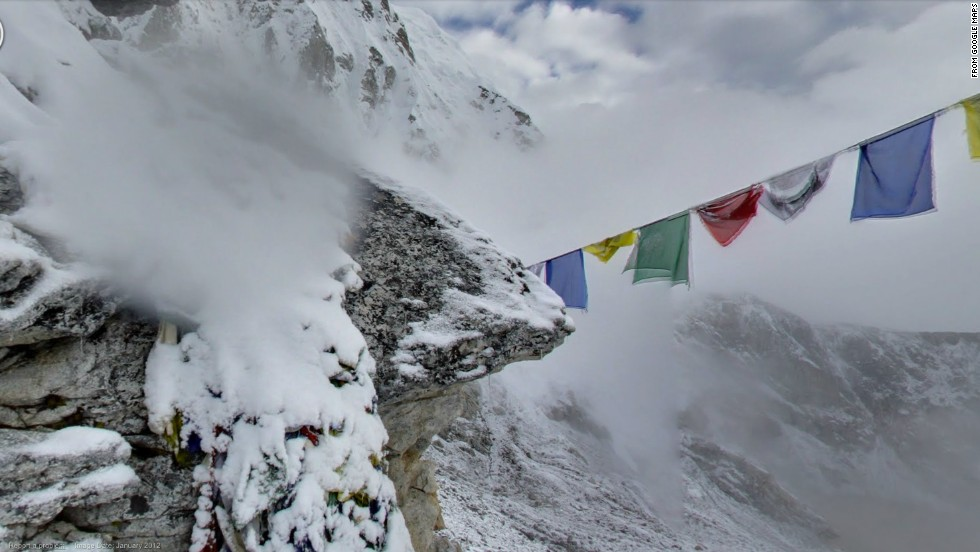 On Kala Patthar, an 18,192-foot peak near Mount Everest in Nepal.