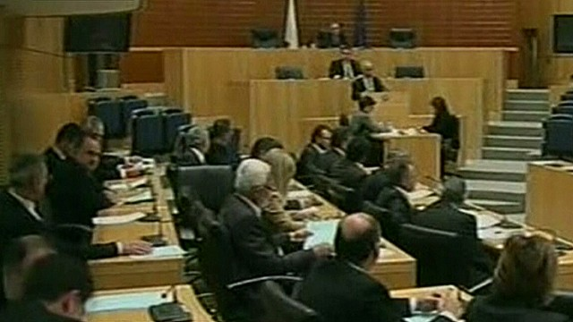 Cyprus' parliament rejects bank levy