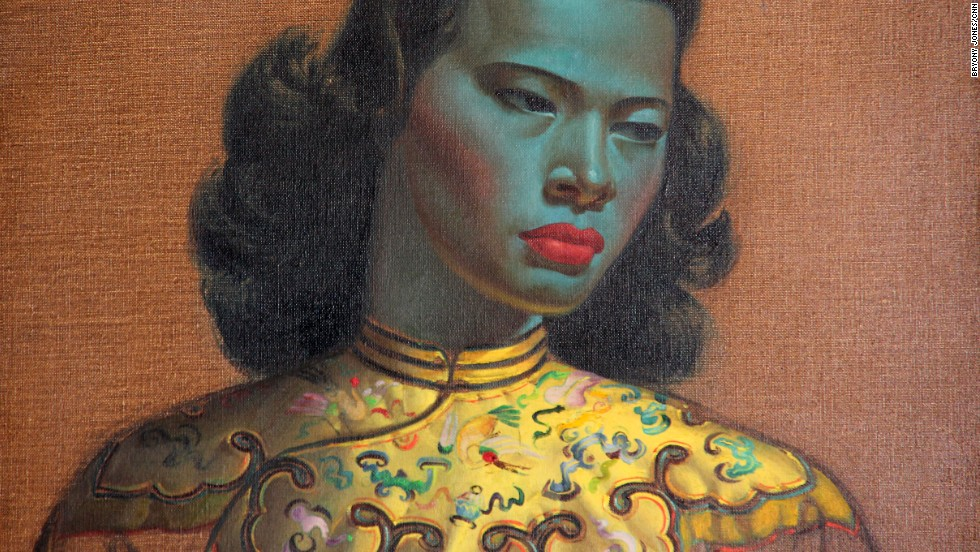 """Chinese Girl,"" his best-known work, is reputed to be one of the most reproduced paintings in the world."