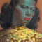 Vladimir Tretchikoff Chinese Girl detail