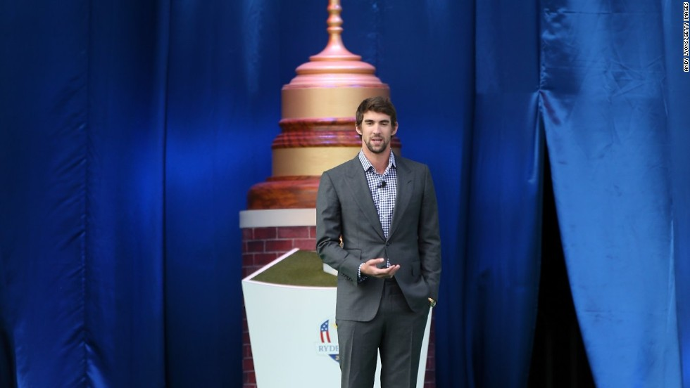 Phelps embarked on his golfing challenge following the London 2012 Olympics. He was a guest speaker at the opening ceremony for the 39th Ryder Cup at Medinah in September, where the U.S. suffered a dramatic last-day defeat against Europe in golf's premier teams event.