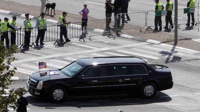 See what happened to Obama's broken limo