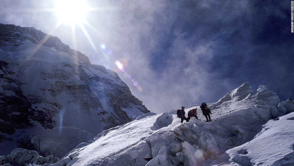 "Pasaban didn't set out to make history: she had already climbed nine of the 14 mountains, including this ascent of 8,516m Lhotse in 2003, when it occurred to her she could complete them all. <br /><br />""I started climbing the 8,000ers because I really enjoyed it and also maybe out of love,"" she says. ""I never considered the possibility of finishing them until the end. That possibility arose when I had climbed nine mountains."""