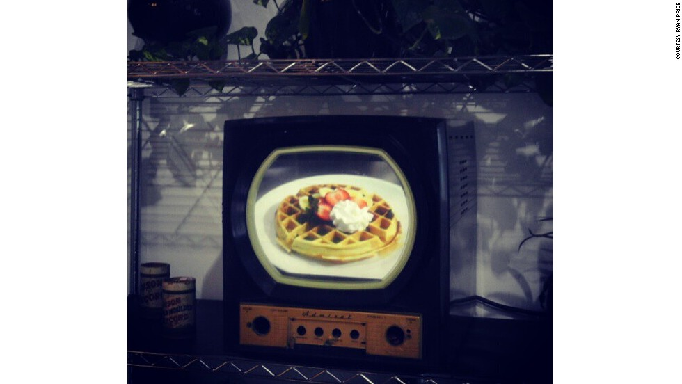 "Raspberry Pi is inspiring home inventors around the world. Ryan Price from Orlando, Florida, re-purposed this Bakelite Admiral television with a 15"" LCD screen with an RPi to display video, pictures and other media. ""The community that has formed around the Pi is nearly unmatched,"" he said."
