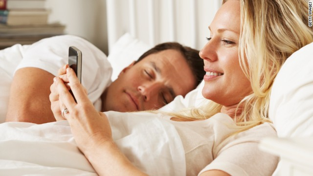 A new survey released by Motorola Mobility says more people watch video on mobile devices in the bedroom than TV.