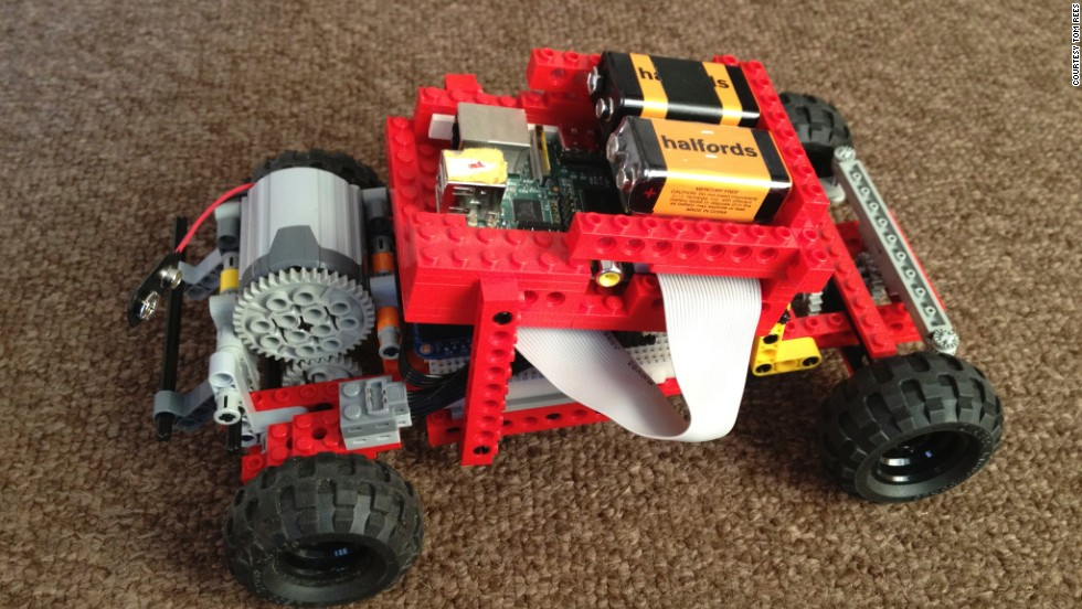 "Tom Rees created a remote-controlled car out of Lego, operated using the console from a gaming system. ""The project was a fantastic learning experience, though difficult and even disheartening at times. When it was completed, I wanted to share my findings and now I'm really pleased to see several other projects based upon this one which develop the concept even further,"" he said."