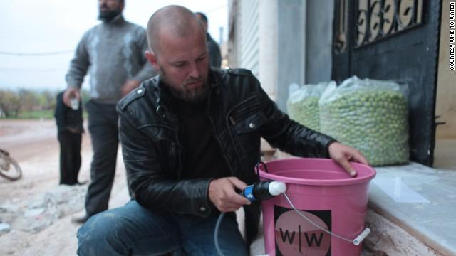 CNN Hero runs clean-water program