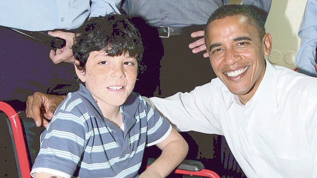 Israeli family: When we met Sen. Obama