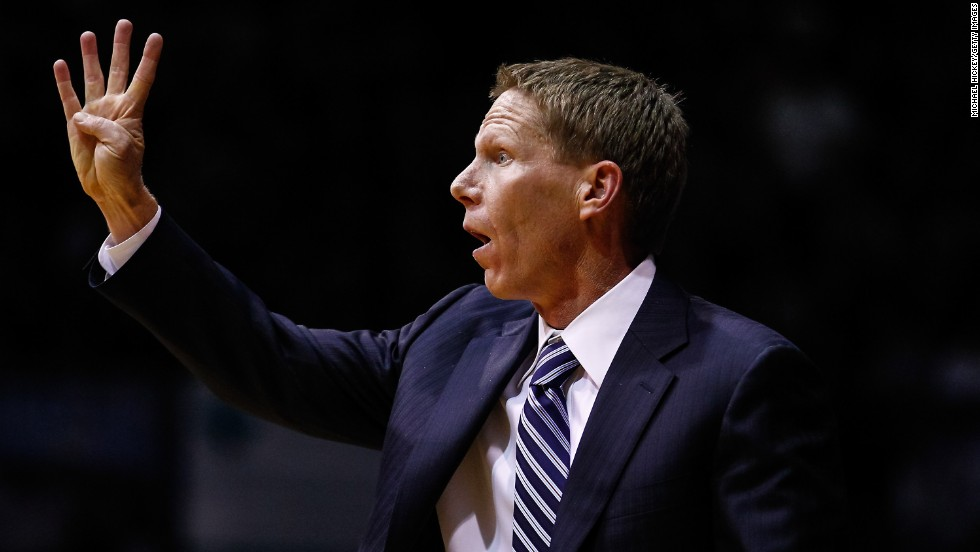 Mark Few has been head coach at Gonzaga since 1999. He joined the team's coaching staff as a graduate assistant in 1989.
