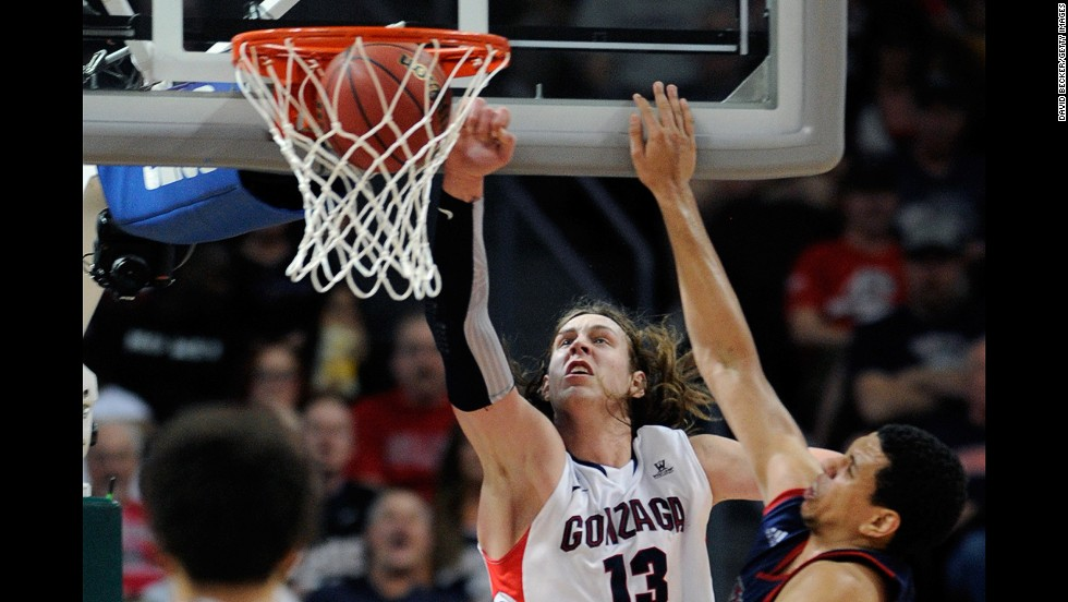 Kelly Olynyk, a 7-foot junior forward, has a 65.2% field goal percentage, the fifth best in the country.