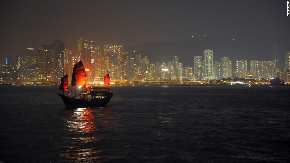 The Hong Kong University study found that Hong Kong is the most light polluted city on the planet.