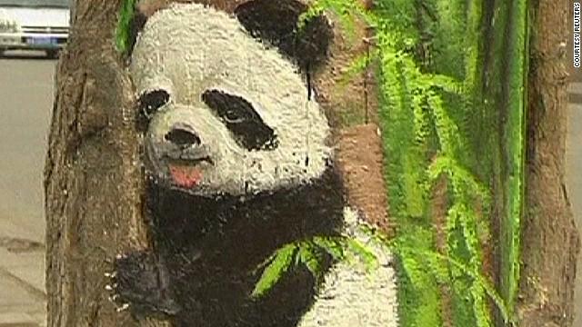 Lifting spirits in China through art