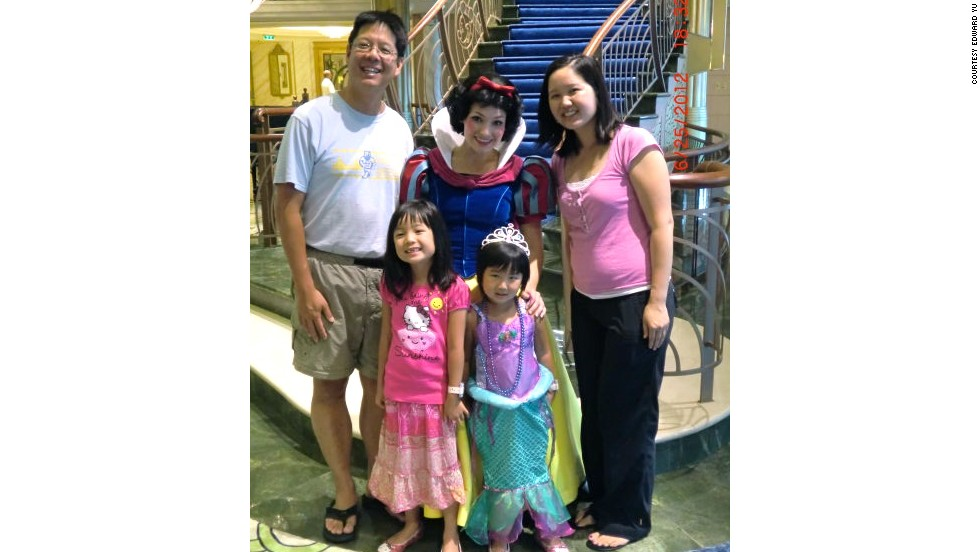 "Edward and Harriet Yu and their two daughters love the ""top notch entertainment"" and the character encounters they had on their latest Disney cruise."