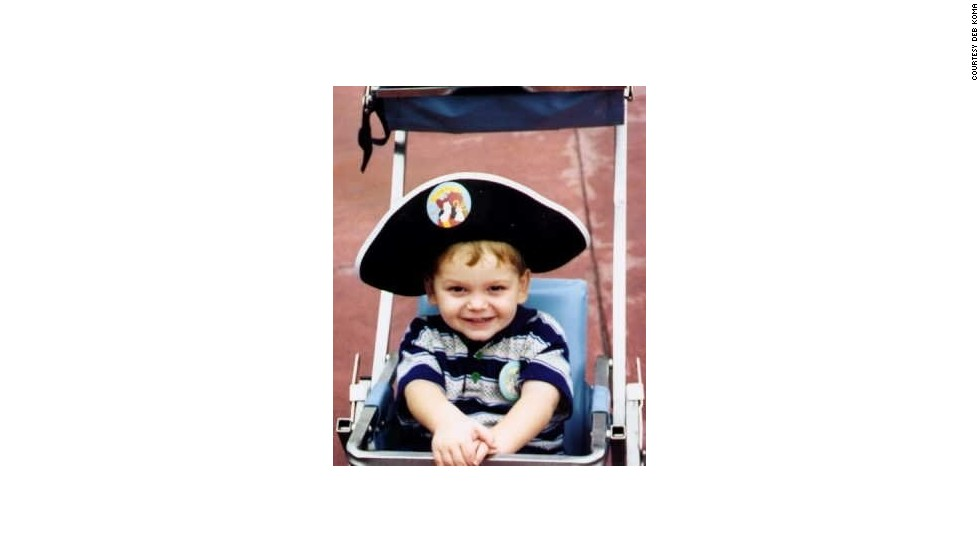 Deb Koma first took her son Alex to Disney World in 1994, when he was just two. That's him wearing the pirate hat. Some travelers are not so eager for all Disney has to offer.