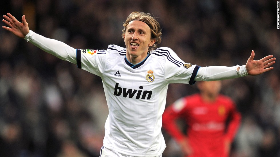 Croatia's leading star is Luka Modric, the Real Madrid playmaker who joined the Spanish giants from Tottenham Hotspur in August 2012.
