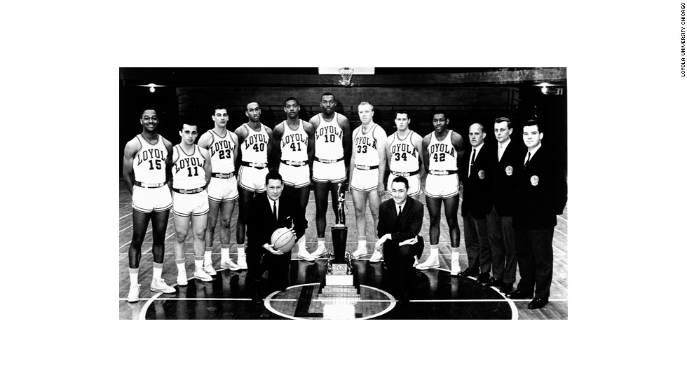 Loyola University Chicago's 1963 Men's Division I basketball team