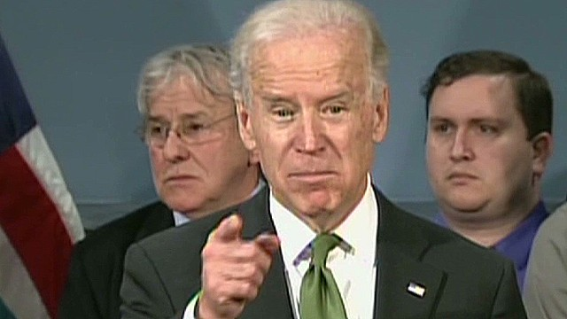 Biden: Show 'courage' on gun laws