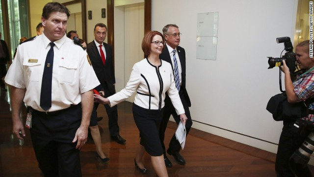 A number of opinion polls suggest the Labor Party is unlikely to win the next election with Julia Gillard at the helm.