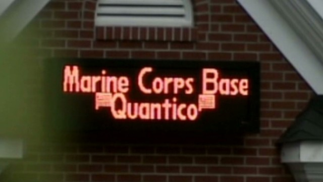 3 dead at Quantico Marine Base shooting