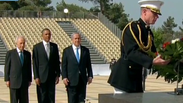 Obama visits holy sites in Israel