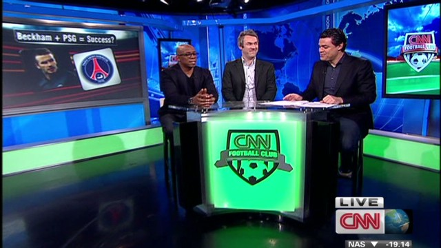 CNN FC: PSG's gamble on David Beckham