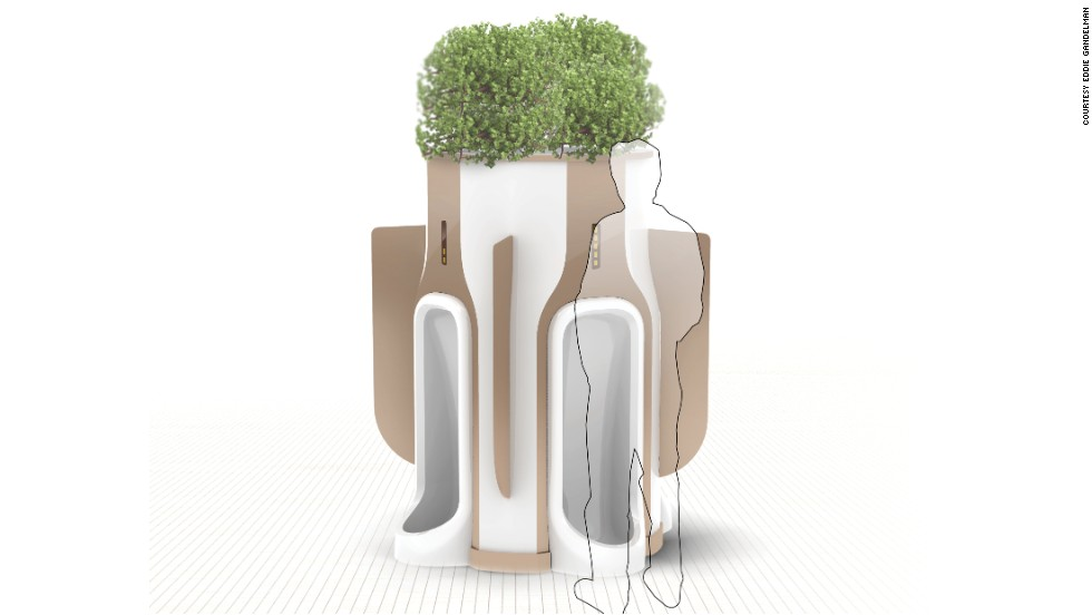 "Apparently, properly filtered urine can make a great plant fertilizer. I must've missed that part of science class. But Ohio-based industrial designer Eddie Gandelman says he has found a way to make peeing in public less embarrassing and more eco-friendly with his <a href=""http://www.coroflot.com/eddiegandelman/When-Nature-Calls"" target=""_blank"">aptly named ""When Nature Calls"" urinal pod</a>, which filters urine before delivering it to plants. Gandelman, an industrial designer for Priority Designs, created the concept while at the University of Cincinnati. The circular shape of the pods creates more privacy for users to ""water the plants"" than your average public bathroom urinal. They're also attached to planters so the filtered urine can water plants. For now, it's just a concept that has not been implemented anywhere, but which guy wouldn't love this?"
