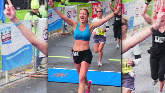 Woman completes one marathon a week