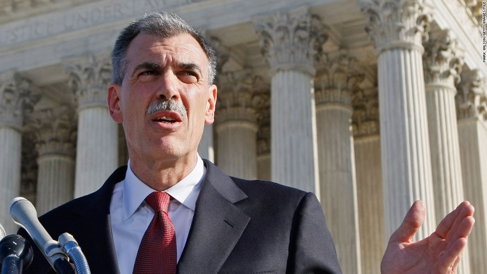 "U.S. Solicitor General Donald B. Verrilli Jr. will briefly argue on behalf of the Obama administration in opposition to Proposition 8. The administration has filed <a href=""http://www.cnn.com/2013/02/28/politics/court-gay-marrage/index.html"">a brief with the high court formally expressing its support for same-sex marriage in California</a>."