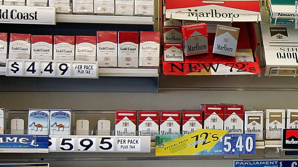 What is the cheapest pack of cigarettes in Arkansas