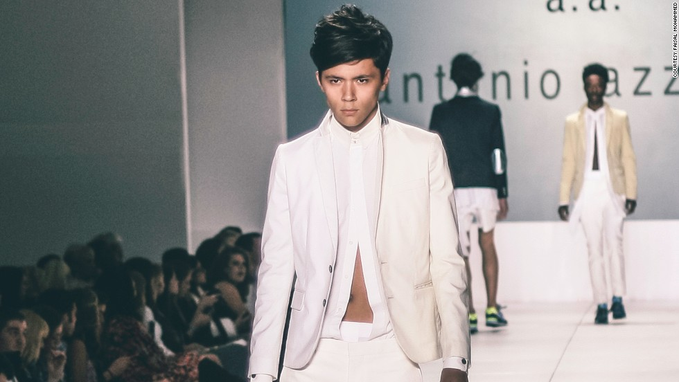 Established menswear designer Antonio Azzuolo showed his fall 2013 collection in Charleston. Designers like Azzuolo see regional fashion weeks as opportunities to share their lines with audiences and potential customers who might not normally see them.<br />