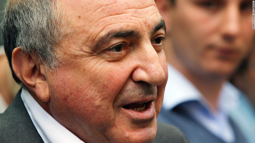 On March 23, 2013, Berezovsky's son-in-law said on Facebook that the tycoon had died.