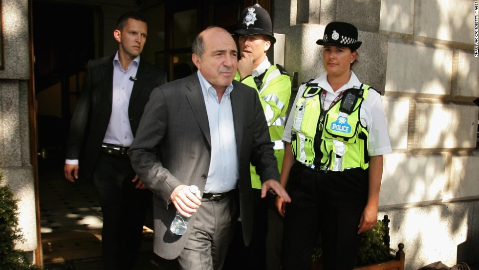 Berezovsky said he had briefly fled abroad because of threats against him.
