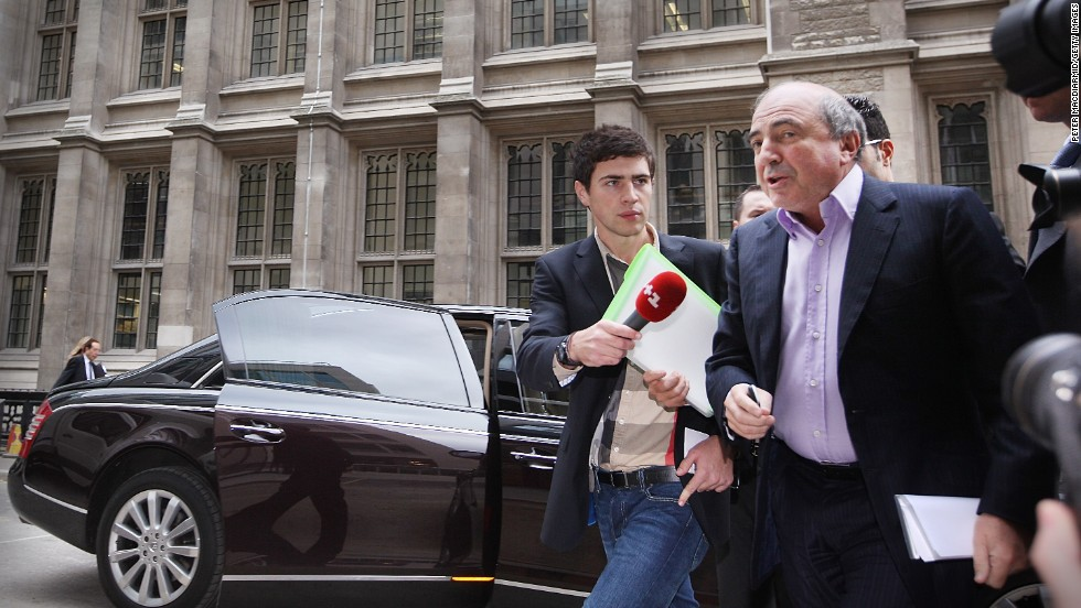 In 2011, Berezovsky alleged a breach of contract over business deals with fellow Russian and Chelsea Football Club owner Roman Abramovich.