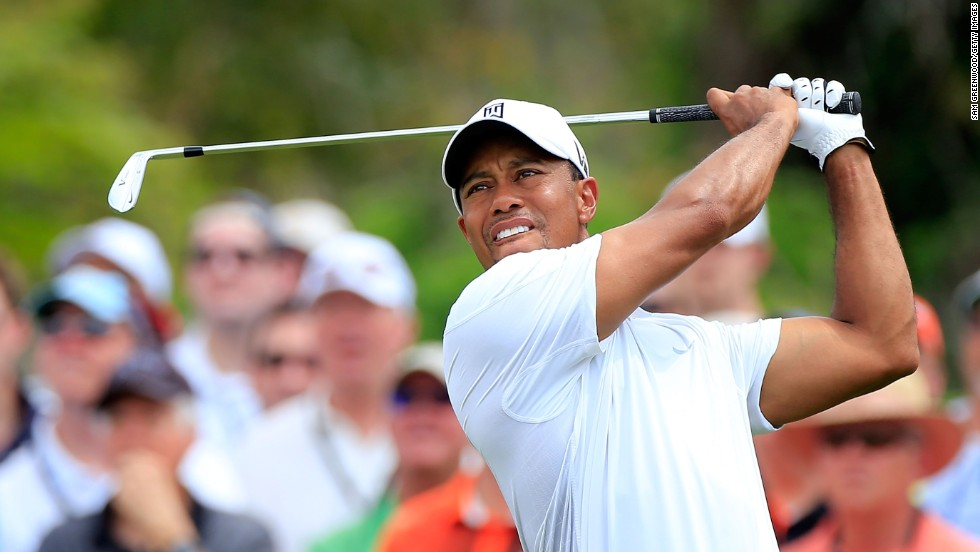 "Tiger Woods regains the <a href=""http://www.cnn.com/2013/03/25/sport/golf/golf-woods-world-number-one-again/index.html"">No. 1 spot in world golf rankings</a> with a win at the Arnold Palmer Invitational on Monday, March 25. Here, he plays a shot at the tournament in Orlando on Sunday, March 24. Check out what Woods has been up to since the last time he was the top-ranked golfer nearly 2½ years ago:"