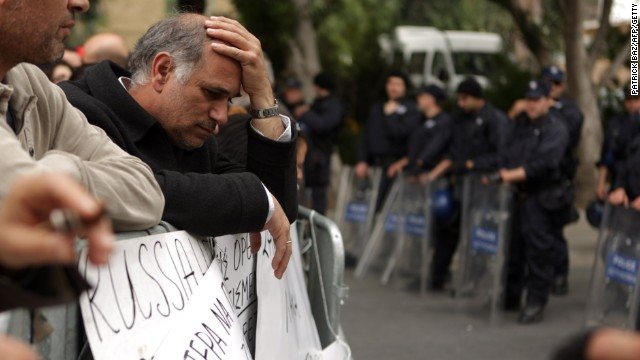 How did Cyprus land in bailout crisis?