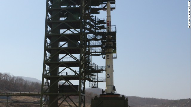 North Korea puts rockets on standby