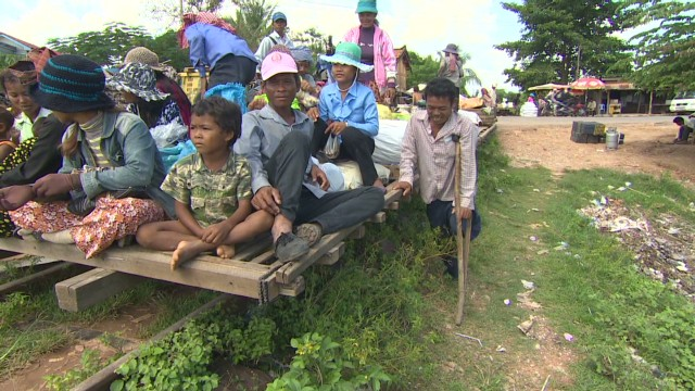 Cambodia's 'iron' silk road
