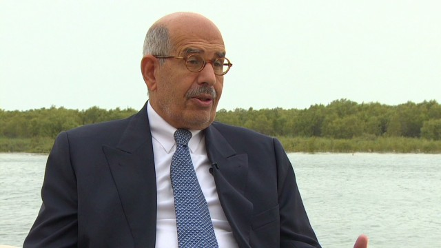 ElBaradei: Pillars for Egypt's progress