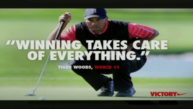 Winning solves everything for Tiger?
