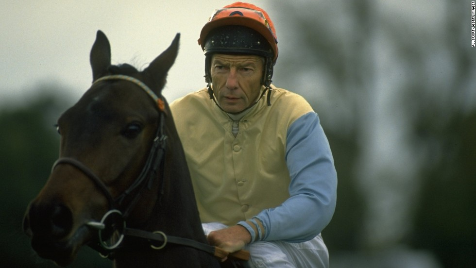 Jockey Lester Piggott won the Epsom Derby, England's richest horse race, nine times between 1954 and 1983. In 1987, he was sentenced to three years in prison on tax fraud charges. Piggott came back to win the Breeders' Cup Mile in the United States in 1990.