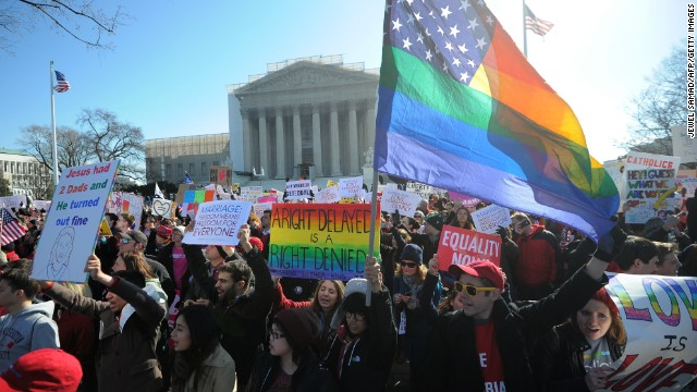 Same-sex marriage dividing GOP